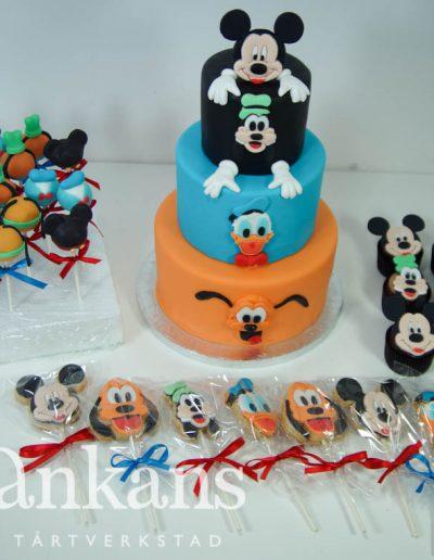 Disney-dessertbord