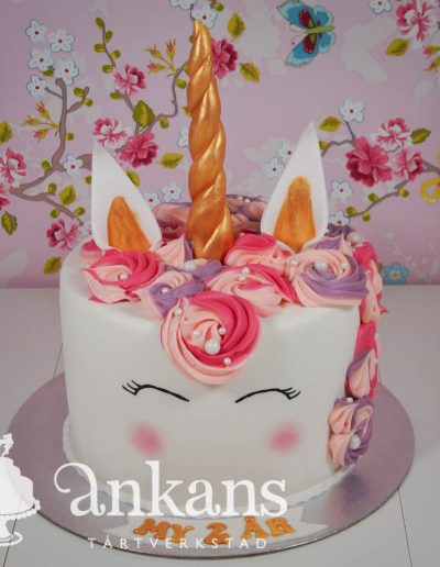 Unicorn-tarta
