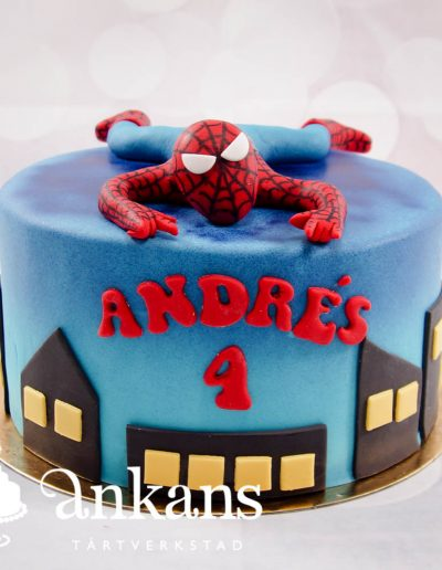 Spiderman-tarta