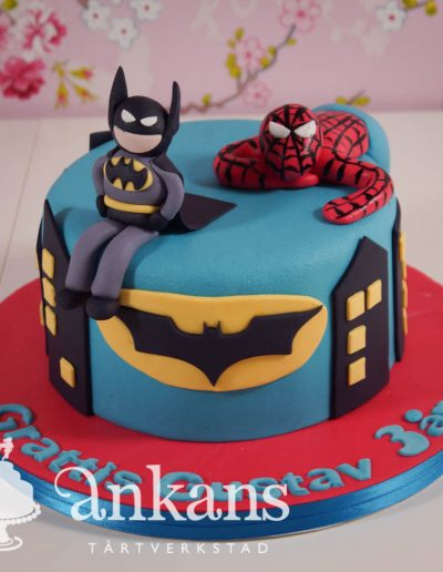 Superhjältetårta