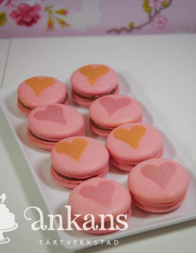 Macarons-with-heart