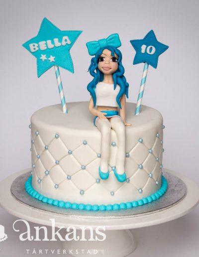 födelsedags-tårta